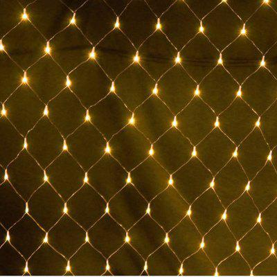 Under $12, the 3 x 2m Outdoor Christmas Day Net Light with 8 Lighting Modes Is for a Neat Look!