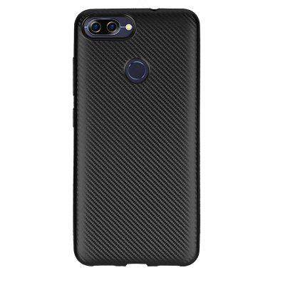 Soft Carbon Fiber Case for ASUS Zenfone Pegasus 4S Max Plus ( X018DC ) ZB570TL
