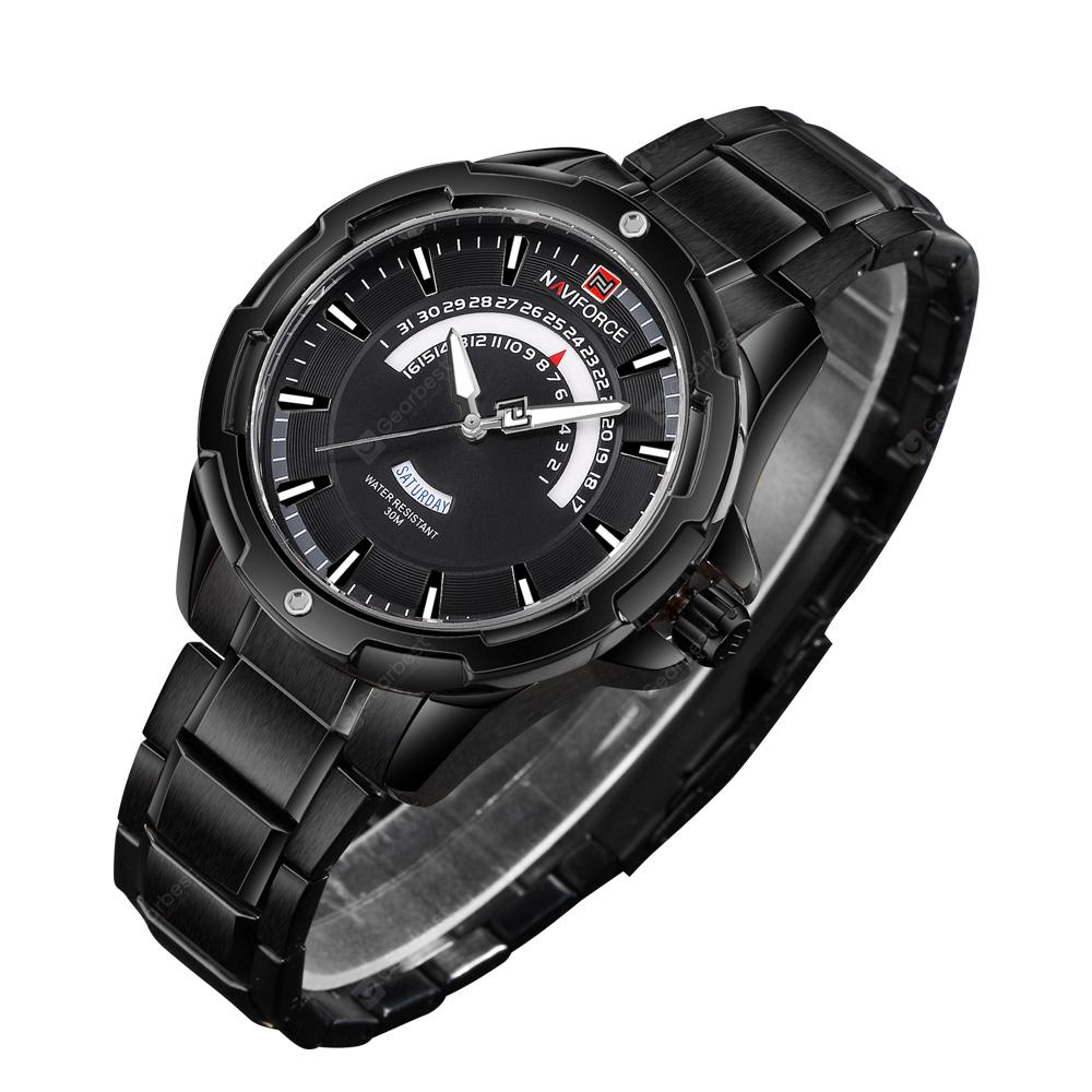 NAVIFORCE Men's Business Quartz Fashion Watch