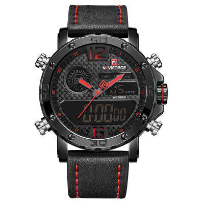 NAVIFORCE Multifuncional Masculina Business Quartz Watch