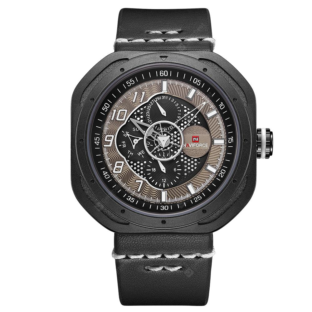 NAVIFORCE Sports Fashion Quartz Men's Casual Watch