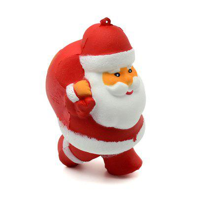 Slow Rebound Backpack Santa Claus Relief Toy Bag Accessories