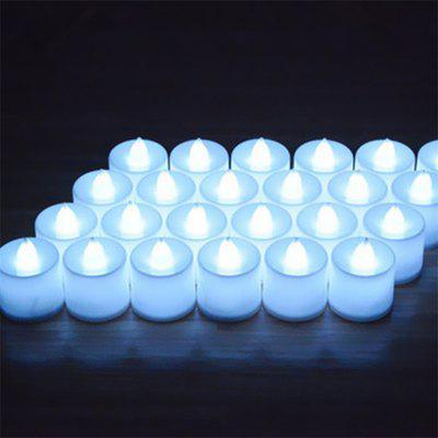 24PCS  Simulation Led Electronic Candle Birthday Courtship Wedding Candle Light