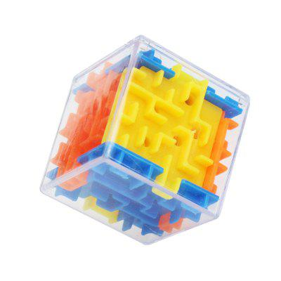Děti Puzzle Early Learning Toys 3D Maze Marble Cube Holiday Dárky