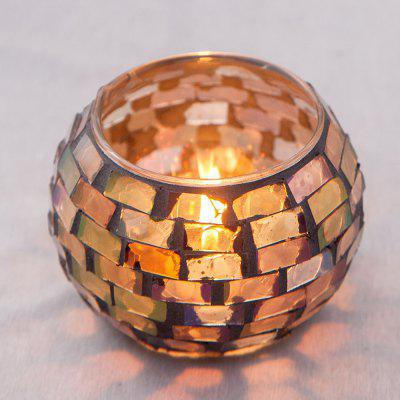 Handmade Mosaic Candle Holder for Wedding / Dinner / Party