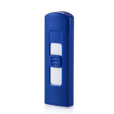 Windproof USB Rechargeable No Flame Cigarette Cigar Lighter
