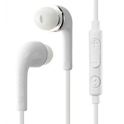 Jack Earphone Earbuds Stereo Wired Headset with Mic