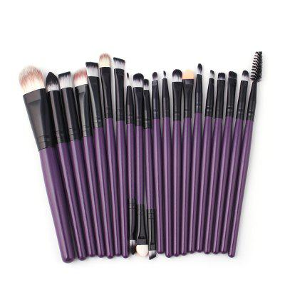 Alta Qualidade 20 PCS Makeup Brush Set Wood Handle