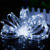 ZDM 500CM 3W 50LEDs Waterproof Outdoor String Light for Festival Christmas Party Decoration with RF 13Key Controller - COOL WHITE