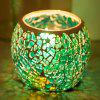 Wedding Party Decorations Glass Candle Holder Home Table Display - TURQUOISE