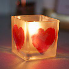 Creative Home Decor Glass Candle Holder For Wedding Birthday Party