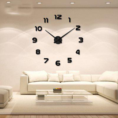 Personalized Big Wall Clock Acrylic Mirror Modern Home Decoration