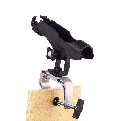 Fishing Boat Rods Holder with Large Clamp Opening 360 Degree Adjustable