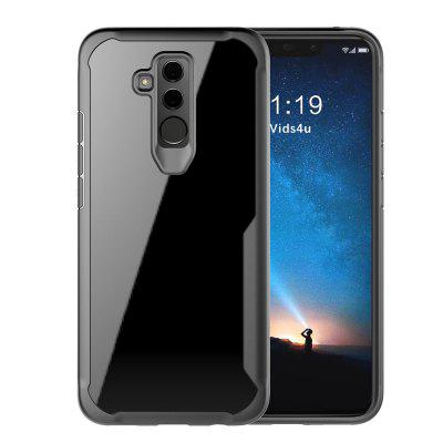 Full Protective TPU and Acrylic Transparent Case for Huawei Mate 20 Lite