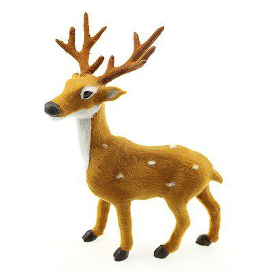 Decoraciones creativas de la Navidad de Sika Deer Plush Simulation