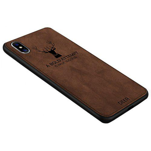big sale e406d 2d7d0 Cloth Deer Cover Shockproof Soft for iPhone X Case