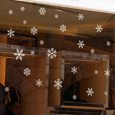 Christmas Snowflake PVC Window Wall Sticker