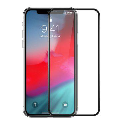 Mrnorthjoe 3D Curved Edge Tempered Glass Screen Protector for iPhone XS Max