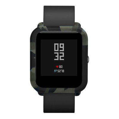 Camouflage Soft Case Protect Shell for AMAZFIT Bip Youth Smartwatch