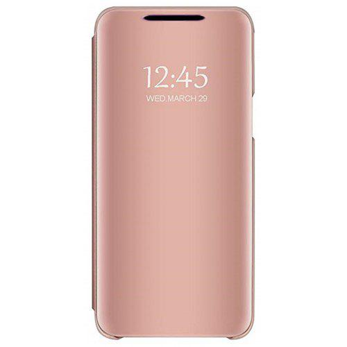 newest 8c952 2c43b Mirror Flip Leather Clear View Window Smart Cover Case for Huawei Mate 20  Lite