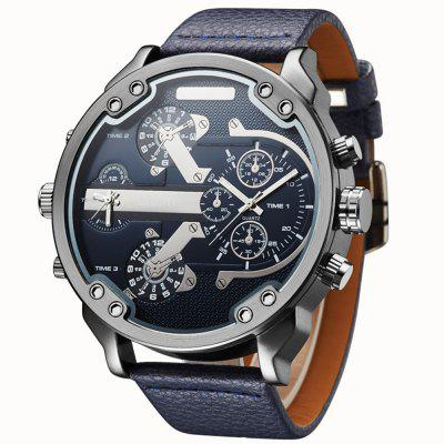 Oulm New Design Large Dial Cool Military Sport Wrist Watch
