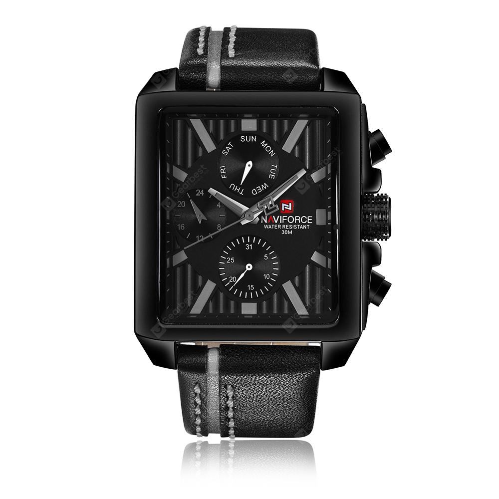 NAVIFORCE Men's Quartz Fashion Watch