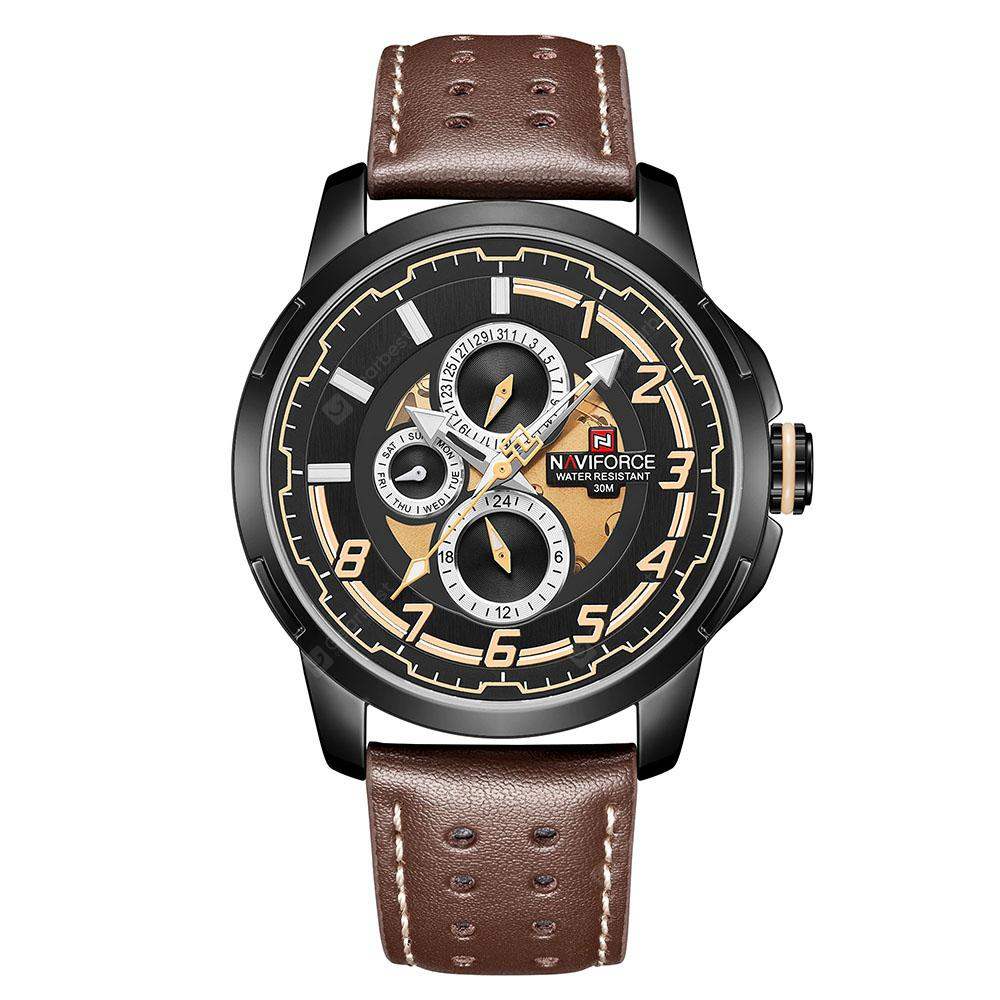 NAVIFORCE Business Men's Casual Quartz Watch