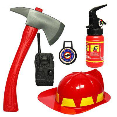 Brave Little Fireman Cosplay Games Educational Toy