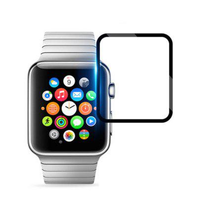 3D Full Cover Edge Full Glass Film 44mm Screen Protector dla iWatch Series 4