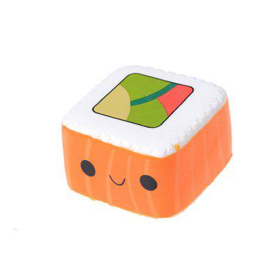 Cute Sushi Decompression Squishy Toy