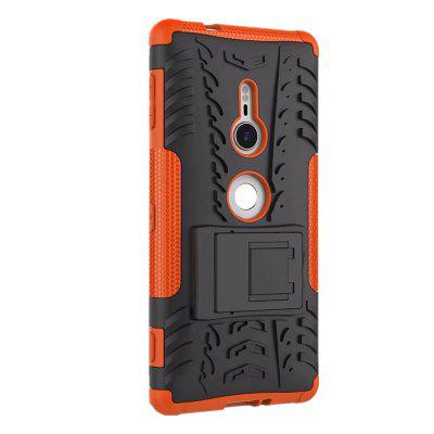 Shockproof with Stand Back Cover Armor Hard PC for Sony XZ2 Case