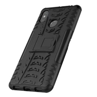 Shockproof with Stand Back Cover Armor Hard PC for Xiaomi Mi Max 3 Case