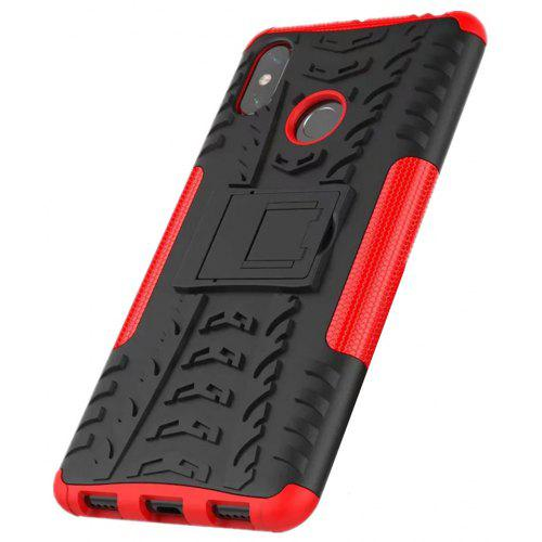detailed look a53f8 03bf9 Shockproof with Stand Back Cover Armor Hard PC for Xiaomi Mi Max 3 Case