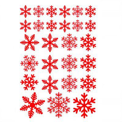 Snowflake Window Clings Decals Christmas Glass static Stickers