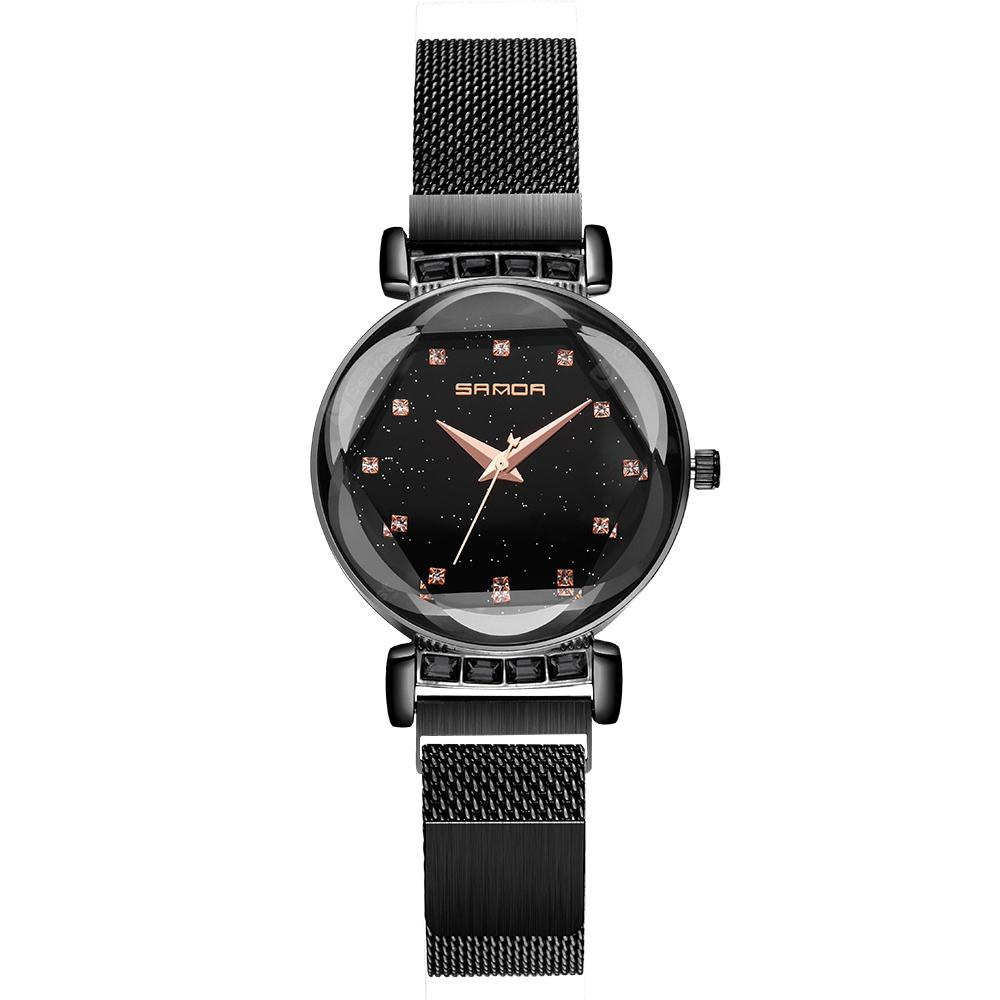SANDA Stylish Minimalist Milan Mesh Ladies Watch