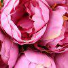 11 Heads Silk Peony Home Decoration Artificial Flower - PINK