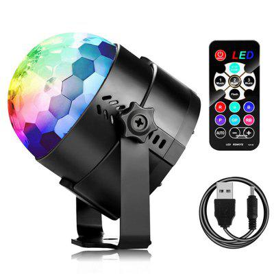 Mini Laser Stage Light LED Lighting Projector Moving DJ Party Christmas Lamp