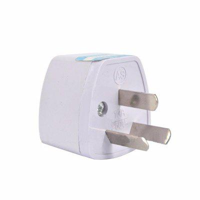 3 pin AU Converter US/UK/EU to AU Plug Charger For Australia New Zealand