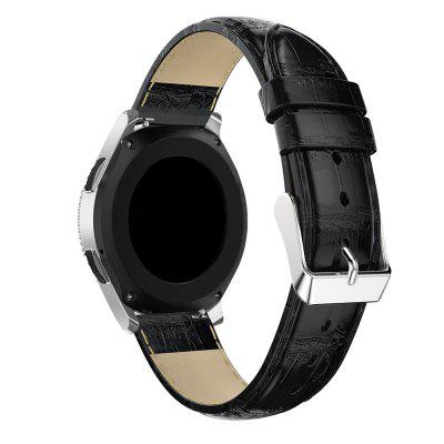 22mm  Genuine Leather Band Strap for Samsung Galaxy Watch (46mm)