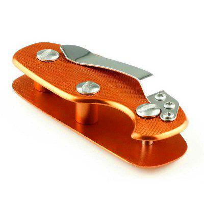 EDC Aluminum Alloy Anti-Skid Key Entrainment Tool