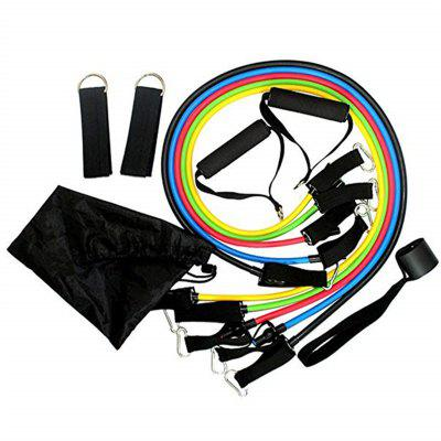 Fitness Widerstand Bands Latex Tubes Pedal Excerciser Body Training 11ST