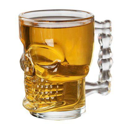 Household Originality Water Cup Skull Decoration Transparent Glass Beer Mug