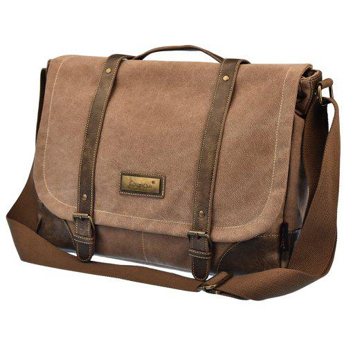 bf87f8f581 DGY Men S Canvas Messenger Bag Shoulder Or Handbag -  34.95 Free  Shipping