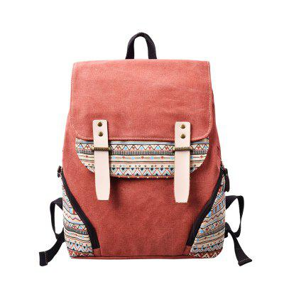 DouGuYan Casual Canvas School College Backpack for Women G00126