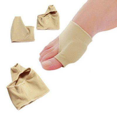 Nude Color Two Size Foot Health Care Bunion Pads Spandex Gel Cushions