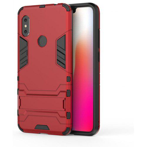 reputable site cc83d 439ed Armor Case for Xiaomi Redmi Note 6 Pro Shockproof Protection Cover