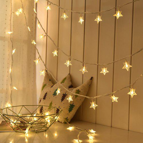 1m 3m 6m Led Star Fairy Garland String Lights Novelty For New Year Christmas Gearbest