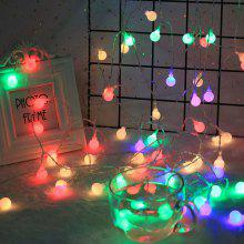 m 20 leds 110v 220v ip44 outdoor multicolor led string lights christmas lights