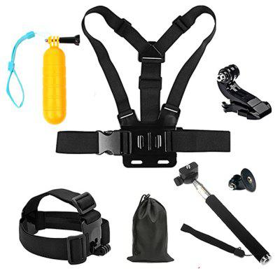 Action Camera Accessories for GoPro Hero 6 / 5 / 4 Session / Xiaomi Yi / SJCAM