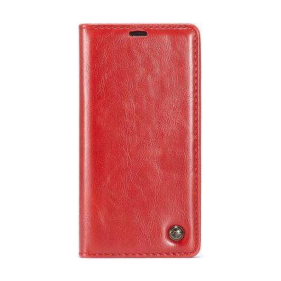 CaseMe 003 for iPhone XS Max 6.5 Magnetic Closure Flip Leather Wallet Phone Case